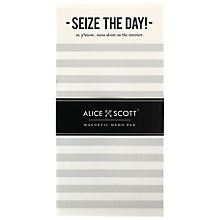 Buy Alice Scott Magnetic List Pad Online at johnlewis.com