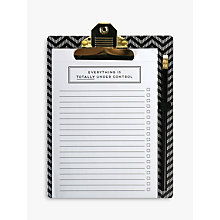 Buy Alice Scott Clipboard Pad & Pencil Online at johnlewis.com