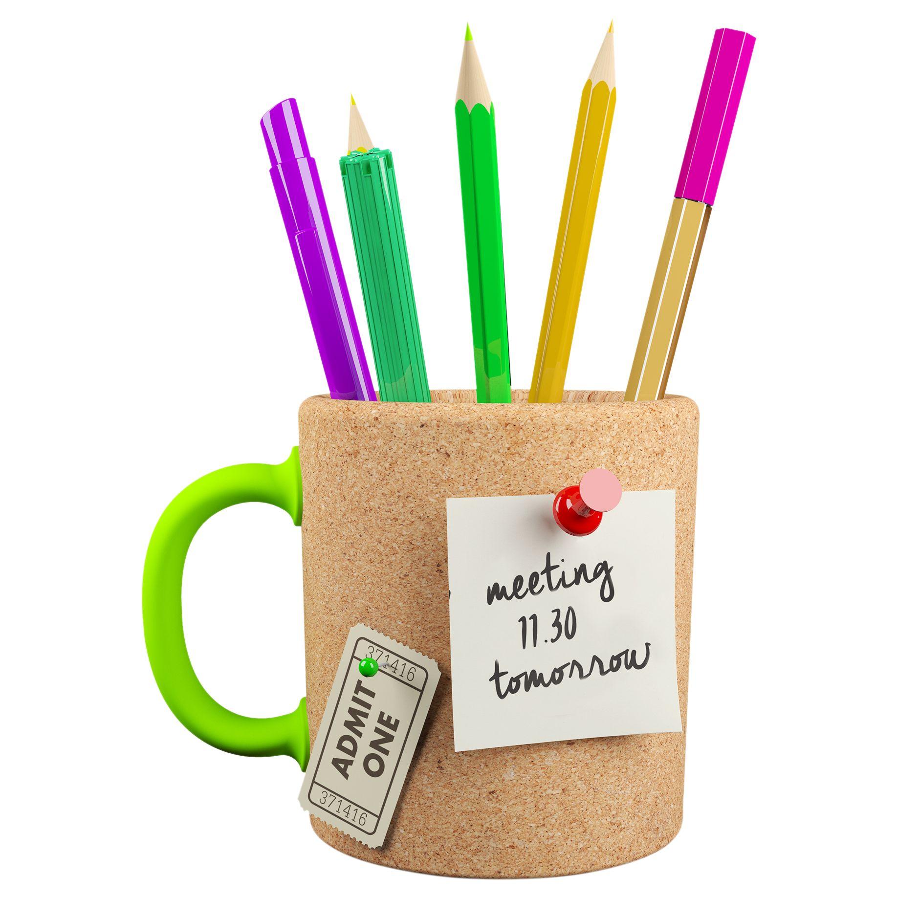 Mustard Mustard Memo Mug Pen Pot