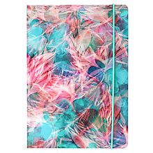 Buy Portico Flexi Blurred Abstract Notebook, A5 Online at johnlewis.com