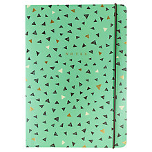 Buy Portico Triangles B5 Journal, Mint Online at johnlewis.com