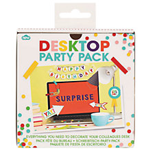 Buy NPW Desktop Party Pack Online at johnlewis.com