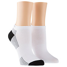 Buy Calvin Klein Performance Coolmax Trainer Socks, Pack of 2 Online at johnlewis.com