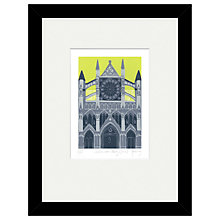 Buy Jennie Ing - Westminster Abbey Limited Edition Framed Print, 34 x 44cm Online at johnlewis.com