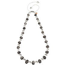 Buy Lola Rose Mobi Necklace, Cloudy Quartz/Rock Crystal Online at johnlewis.com