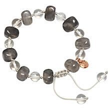 Buy Lola Rose Sury Bracelet, Cloudy Quartz/Rock Crystal Online at johnlewis.com