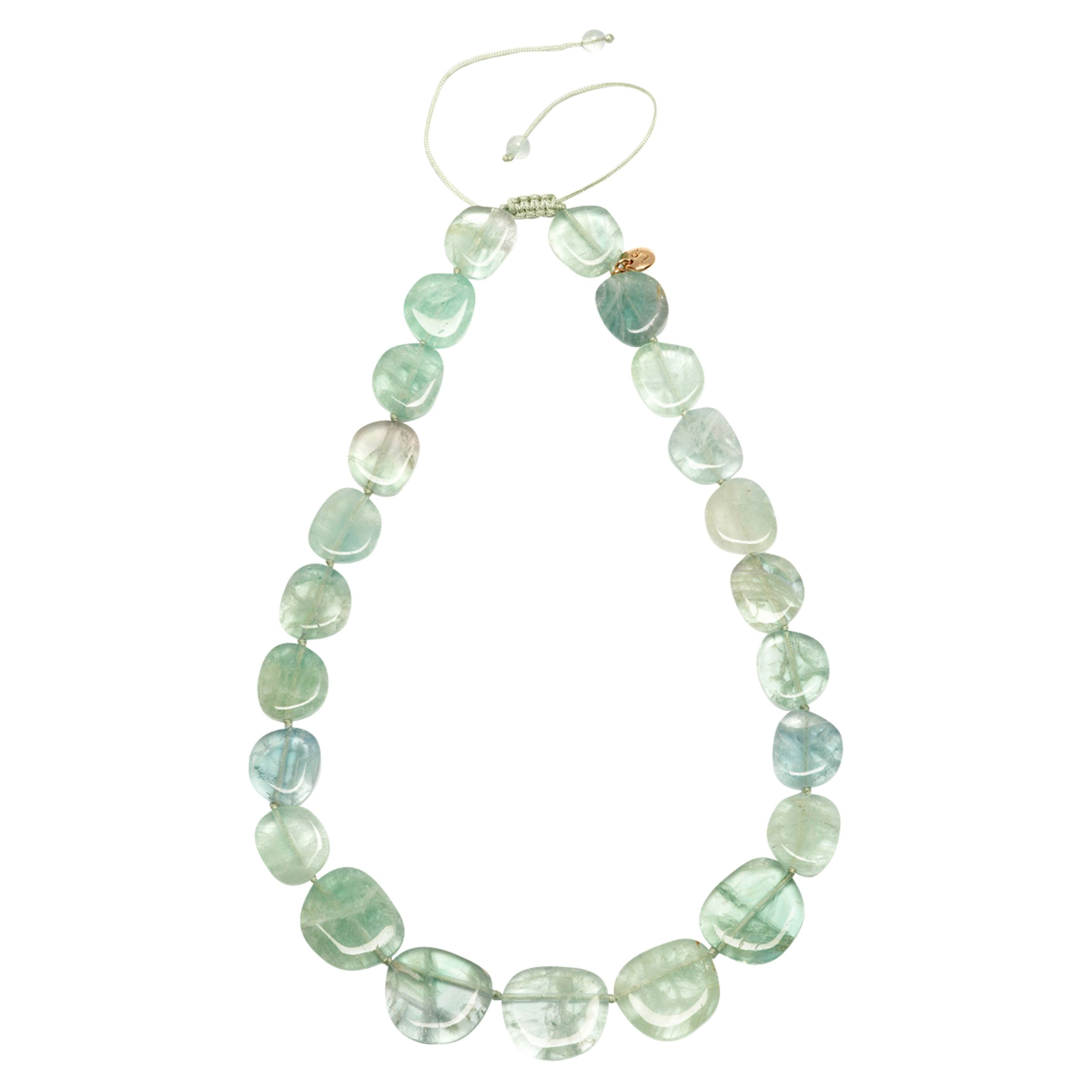 Lola Rose Lola Rose Quentin Necklace, Light Green Fluorite