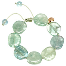Buy Lola Rose Reagan Bracelet, Light Green Fluorite Online at johnlewis.com