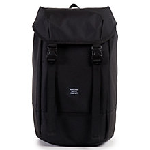 Buy Herschel Supply Co. Iona Backpack, Black Online at johnlewis.com