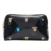 Buy Ted Baker Colour By Numbers Loreli Telephone Print Wash Bag, Dark Blue Online at johnlewis.com