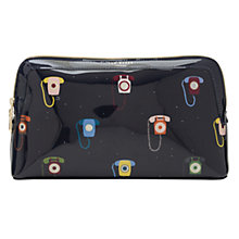 Buy Ted Baker Colour By Numbers Alleen Telephone Wash Bag, Dark Blue Online at johnlewis.com