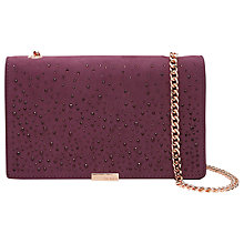Buy Ted Baker Avianna Studded Across Body Chain Strap Evening Bag Online at johnlewis.com