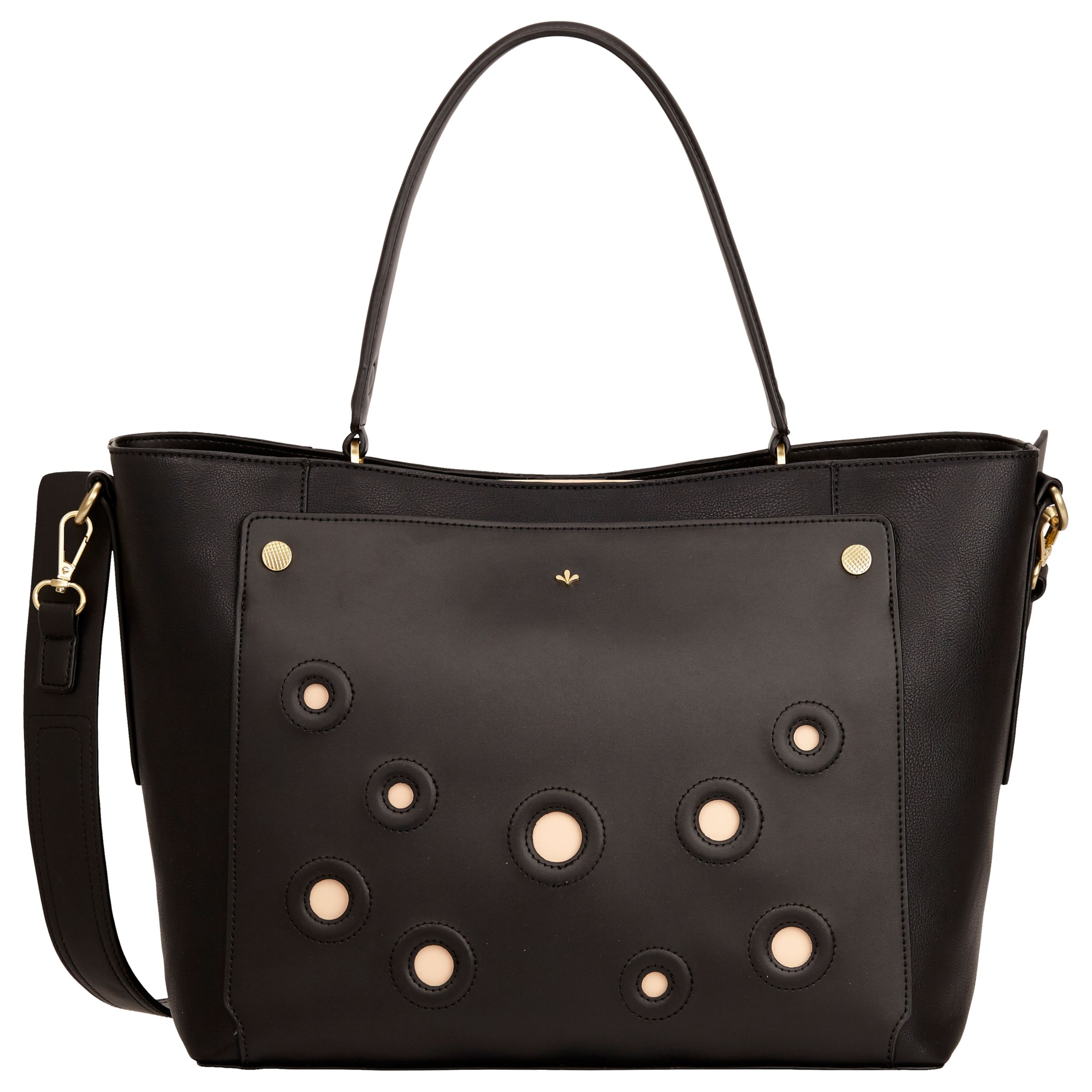 Nica Nica Heidi Shopper Bag, Black Rings