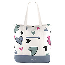 Buy Radley Love Me Love My Dog Canvas Tote, Neutral Online at johnlewis.com