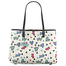 Buy Radley Love Me Love My Dog Tote Bag, Ivory Online at johnlewis.com