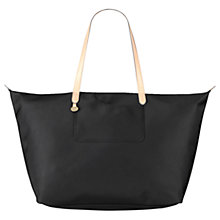 Buy Radley Pocket Essentials Large Weekender Tote Bag, Black Online at johnlewis.com