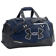 Buy Under Armour Storm Undeniable II Medium Duffel Bag, Navy Online at johnlewis.com