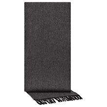 Buy Reiss Number Lambswool Cashmere Scarf Online at johnlewis.com