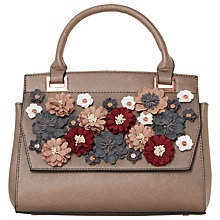Buy Dune Daisy Flower Tote Bag, Bronze Online at johnlewis.com