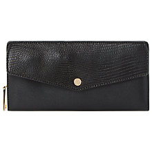 Buy Dune Kiara Envelope Purse, Black Online at johnlewis.com