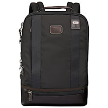 Buy Tumi Alpha Bravo Dover Backpack, Black Online at johnlewis.com