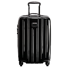 Buy Tumi V3 56cm 4-Wheel Cabin Case, Black Online at johnlewis.com