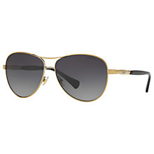 Buy Ralph RA4117 Polarised Aviator Sunglasses Online at johnlewis.com