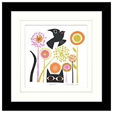 Buy Jane Orme - Unaware Framed Print, 34 x 34cm Online at johnlewis.com