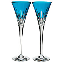 Buy Waterford 'Lismore Pops' Toasting Flutes, Set of 2 Online at johnlewis.com