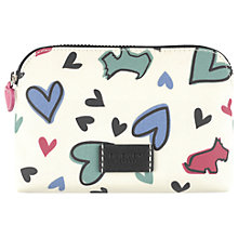 Buy Radley Love Me Love My Dog Small Cosmetic Case, Ivory Online at johnlewis.com