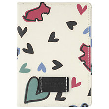 Buy Radley Love Me Love My Dog Passport Holder, Ivory Online at johnlewis.com