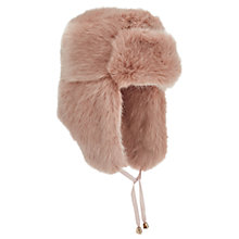 Buy Miss Selfridge Faux Fur Trapper Hat Online at johnlewis.com
