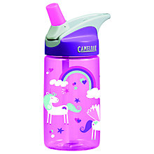 Buy Camelbak Eddy Kids Unicorns Bottle, 0.4L Online at johnlewis.com