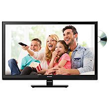 "Buy Sharp LC24DHF4011K LED HD Ready 720p TV/DVD Combi, 24"" with Freeview HD Online at johnlewis.com"