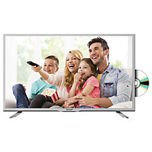 "Buy Sharp LC32DHE5111KW LED HD Ready 720p TV/DVD Combi, 32"" with Freeview HD, White Online at johnlewis.com"