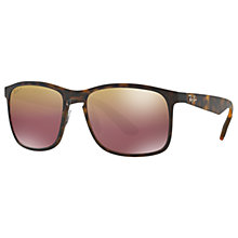 Buy Ray-Ban RB4264 Polarised D-Frame Sunglasses Online at johnlewis.com