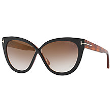 Buy TOM FORD FT0511 Cat's Eye Sunglasses Online at johnlewis.com