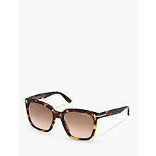 Buy TOM FORD FT0502 Square Sunglasses Online at johnlewis.com