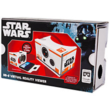 Buy Star Wars: The Force Awakens Cardboard VR Viewer, BB-8 Online at johnlewis.com