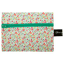 Buy House of Alistair Small Eloise Print Haberdashery Bag, Green Online at johnlewis.com