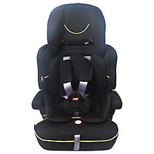 Buy John Lewis Group 1/2/3 Car Seat, Black Online at johnlewis.com