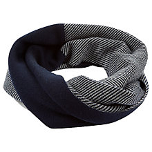 Buy Hobbs Hannah Snood, Navy/Grey Online at johnlewis.com