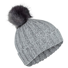 Buy Miss Selfridge Ombre Body Beanie Hat, Grey Online at johnlewis.com