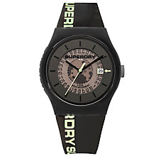 Buy Superdry Unisex Urban Semi Opaque Date Silicone Strap Watch Online at johnlewis.com