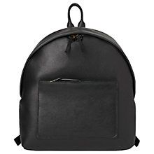 Buy Whistles Java Sporty Backpack, Black Online at johnlewis.com