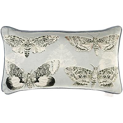 Voyage Multi Moths Cushion, Sky