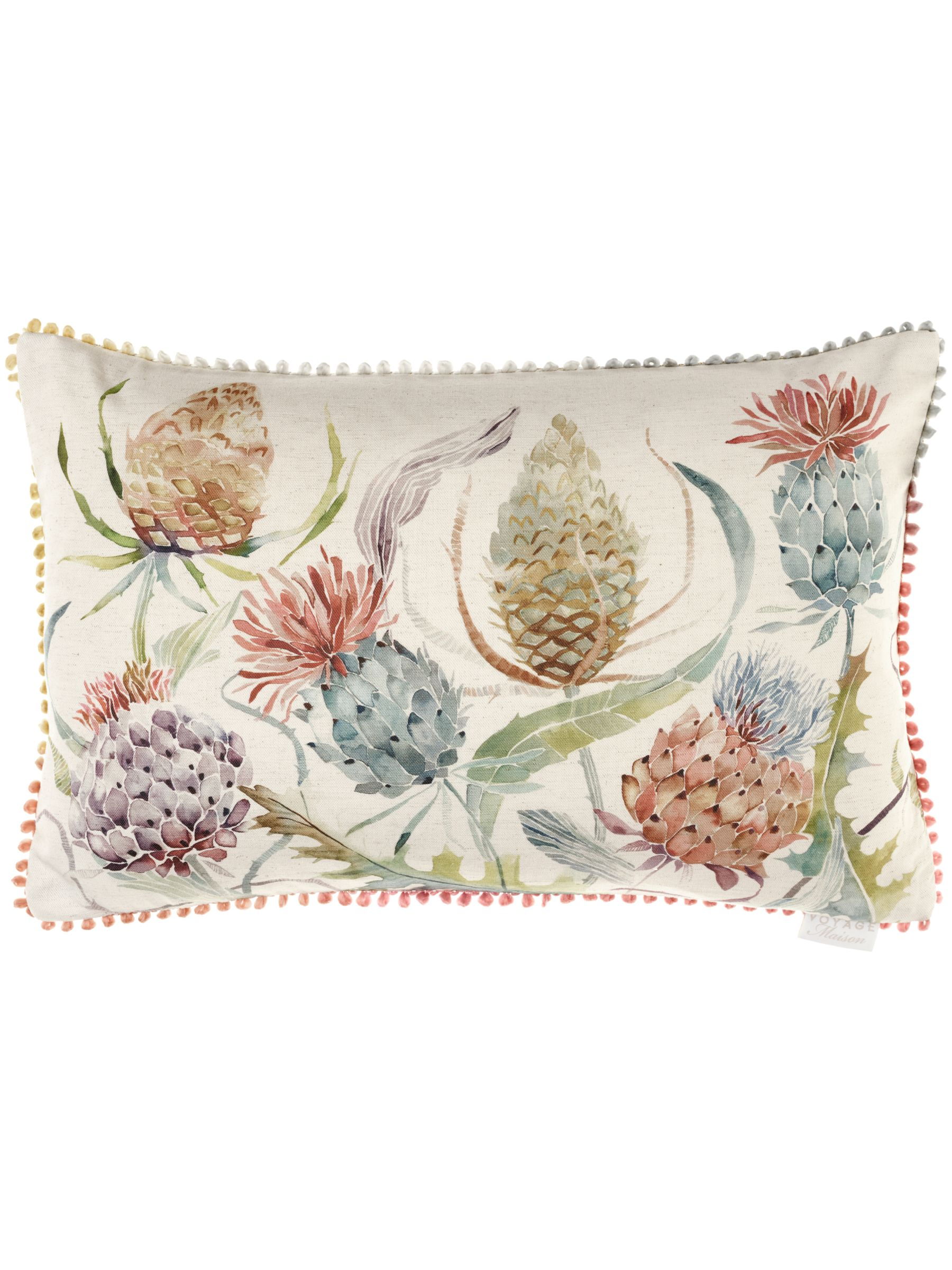Voyage Voyage Thistle Cushion, Autumn