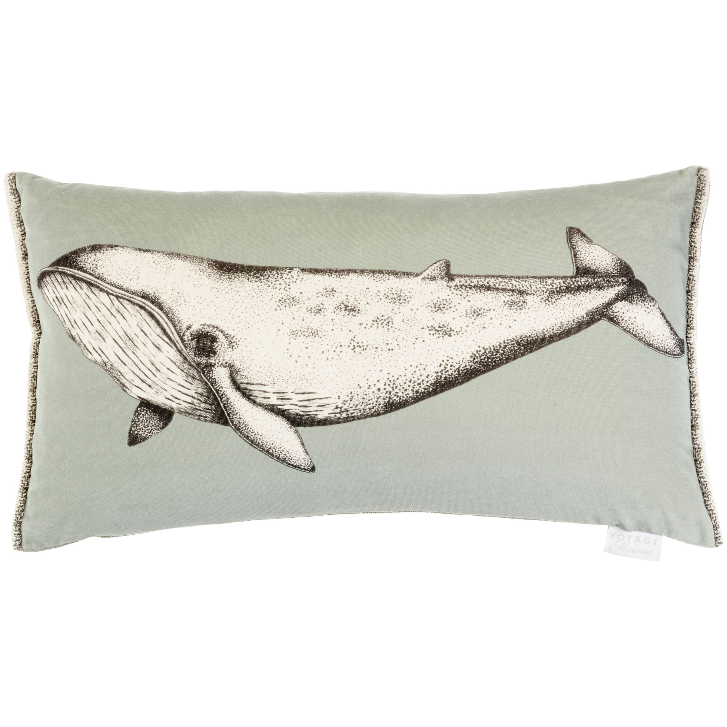 Voyage Voyage Blue Whale Cushion