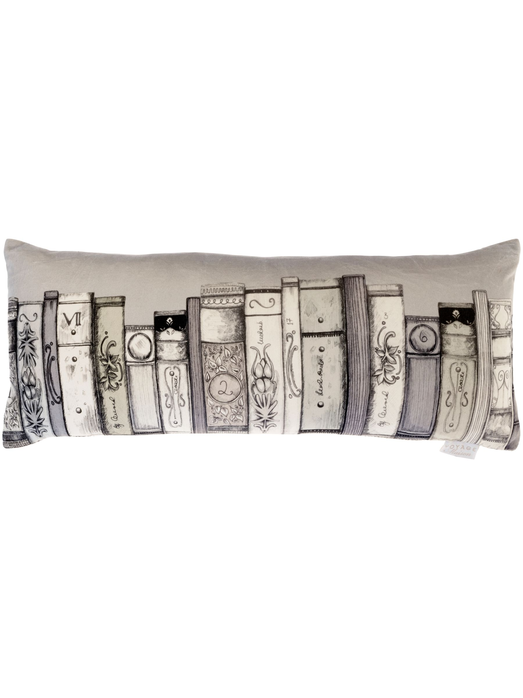 Voyage Voyage Library Books Cushion