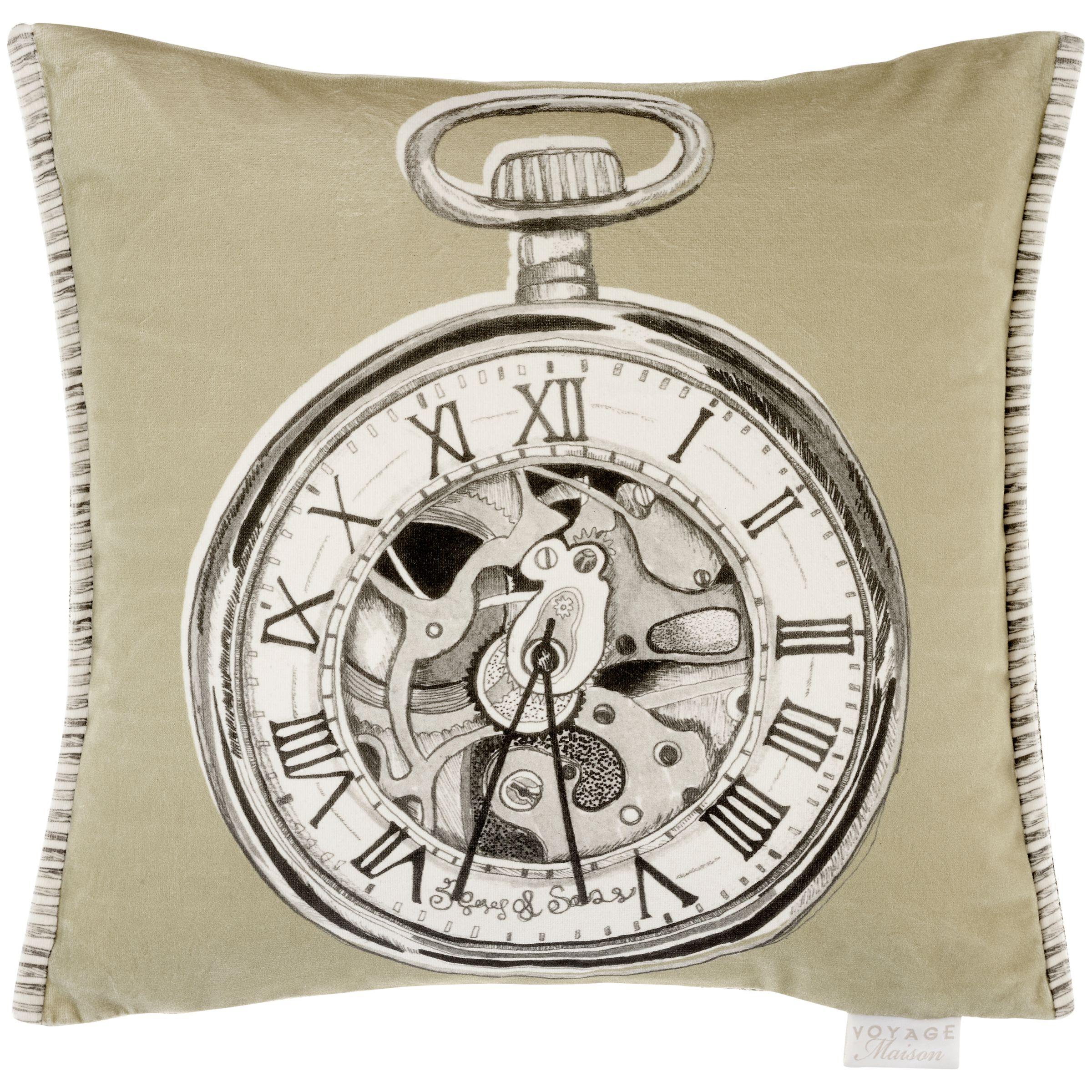 Voyage Voyage Pocket Watch Cushion